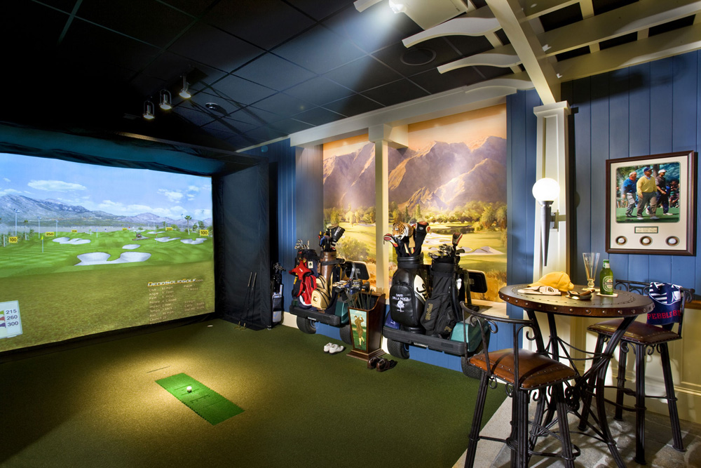 best home golf simulator. Golf On Famous Courses While Improving Your Swing This State-of-the-art Indoor Simulator. Choose From 36 Championship Courses, Driving Range, Best Home Simulator T